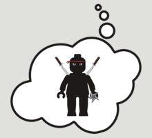 Minifig Ninja by Bubble-Tees.com by Bubble-Tees