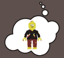 Zombie Minifig by Bubble-Tees.com by Bubble-Tees
