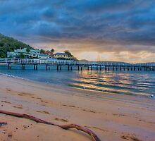 Chowder Bay Sunrise by Chris Brunton
