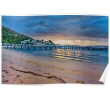 Chowder Bay Sunrise Poster