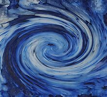 Blue Galaxy by jojobob
