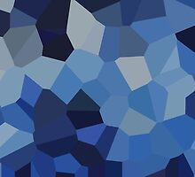 Large Blue Crystals by jojobob