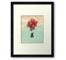 searching for serendipity Framed Print