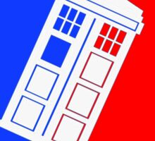 Tardis League (Doctor Who) Sticker