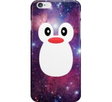Penguin Galaxy Purple iPhone Case/Skin