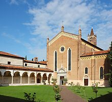 San Bernardino church in Verona by kirilart