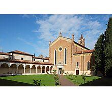 San Bernardino church in Verona Photographic Print