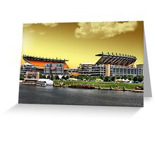 Heinz Field is Golden Greeting Card