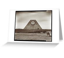 The Great Pyramid of the Middle West Greeting Card