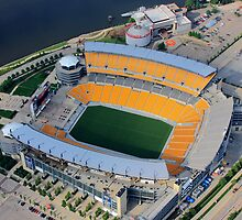 Heinz Field Aerial by shutterrudder
