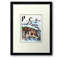 Pacific Coast Highway Print Framed Print