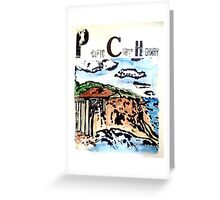 Pacific Coast Highway Print Greeting Card