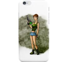 ACTION-GIRL iPhone Case/Skin