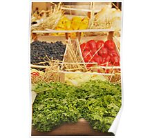 Fruit and Vegetable Display Poster