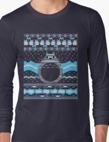 Ugly Christmas sweatshirt- Totoro  Neighbor Christmas Sweatshirt T-Shirt