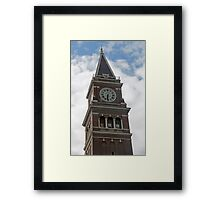 """Clock Tower"" by Carter L. Shepard Framed Print"