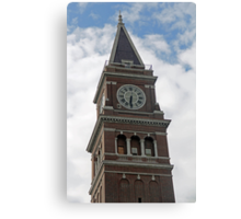 """""""Clock Tower"""" by Carter L. Shepard Canvas Print"""