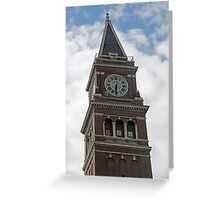 """Clock Tower"" by Carter L. Shepard Greeting Card"