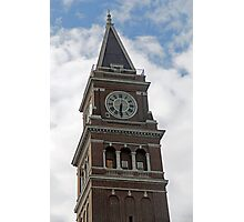"""Clock Tower"" by Carter L. Shepard Photographic Print"