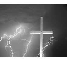 Good Friday in Black and White Photographic Print