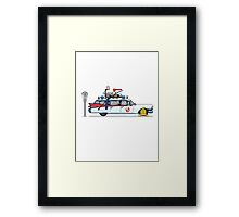 Ghostbusters Cadillac Wheel Clamp  Framed Print