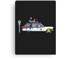 Ghostbusters Cadillac Wheel Clamp  Canvas Print