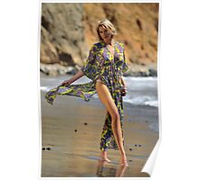 Sexy resort ware on location of CA coastline II Poster