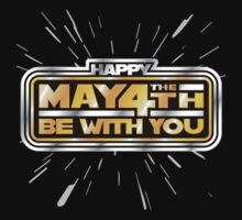 Happy May the 4th! (Yellow/Stars) by justinglen75