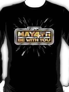 Happy May the 4th! (Yellow/Stars) T-Shirt