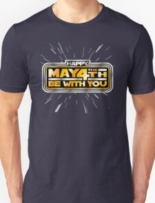 Happy May the 4th! (Yellow/Stars) Unisex T-Shirt