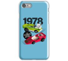 1978 Toy Racers (blue) iPhone Case/Skin