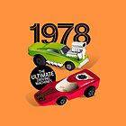 1978 Racers (orange) by robgould1972