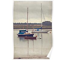 Calm Yachts Poster