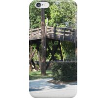 Waxhaw Bridge.  A staple of our town iPhone Case/Skin
