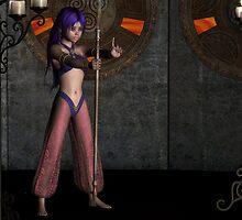 Azura as a Genie by Stephen Burke