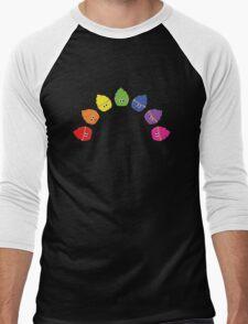 Rainbow Cupcakes! Men's Baseball ¾ T-Shirt