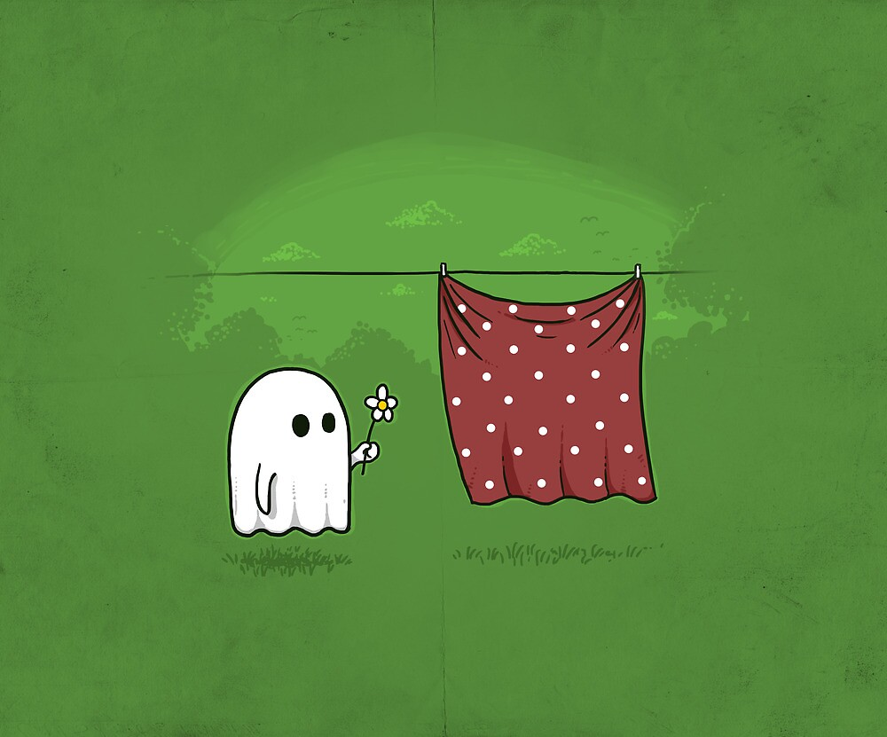 Friendly Ghost by laurxy
