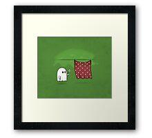 Friendly Ghost Framed Print