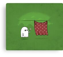 Friendly Ghost Canvas Print