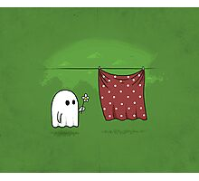 Friendly Ghost Photographic Print