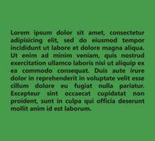 Lorem Ipsum by BeansCollection