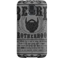 Beard Brotherhood B&W Samsung Galaxy Case/Skin