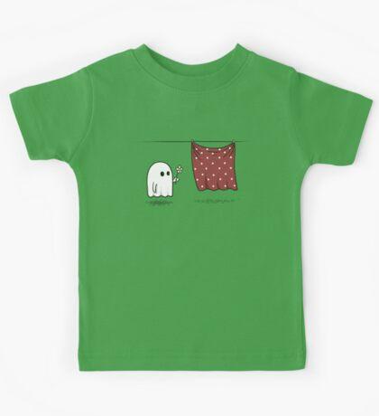 Friendly Ghost Kids Tee