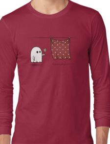 Friendly Ghost Long Sleeve T-Shirt