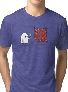 Friendly Ghost Tri-blend T-Shirt