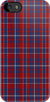 01425 Coronation Commemorative Tartan Fabric Print Iphone Case by Detnecs2013