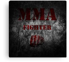 MMA Fighter Canvas Print