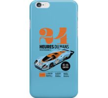 Le Mans Porsche 917 iPhone Case/Skin