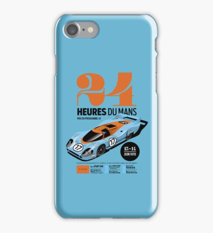 Le Mans Porsche 917 iPhone Case/Skin