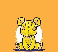 Yellow Teddy Bear by siridhata